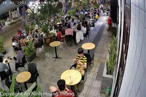 Camera quan sát quán Cafe