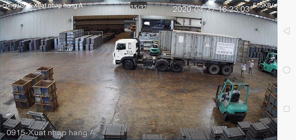 Hình ảnh nhà xưởng Camera KX-C2003N3-B